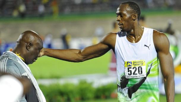 Bolt legt gut los