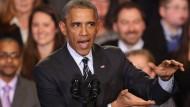 Der amerikanische Präsident Barack Obama verteidigt bei einer Rede in Chicago sein Dekret zur Einwanderungspolitik - und arbeitet an seinem Nachlass.