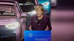 Merkel will Lade-Infrastruktur für E-Autos verbessern