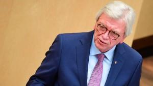 Bouffier ist kein Fan des neuen Infektionsschutzgesetzes