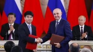 Russland setzt auf Huawei