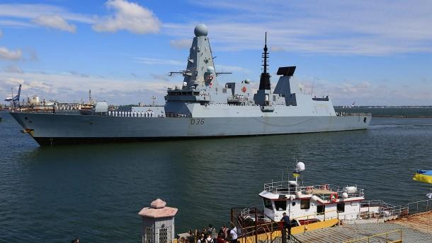 Wollte die Royal Navy Russland provozieren?
