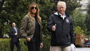 Der Präsident und die Fluten