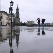 Im Regen stehen gelassen: Auch das Innenministerium im Herzen Dresdens intervenierte trotz Beschwerden nicht.