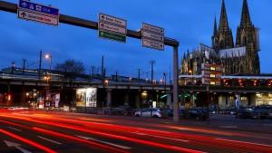 Köln verzichtet auf Fahrverbote