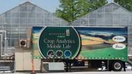 Ein Gewächshaus auf dem Gelände von Monsanto in St. Louis in Missouri