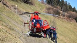 Zwei deutsche Gleitschirmpiloten verunglückt