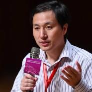 He Jiankui im November 2018