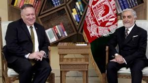 Amerika streicht Afghanistan eine Milliarde Dollar
