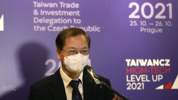 Tschechische Republik empfängt Delegation aus Taiwan