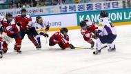 Nord- und Südkorea treffen beim Eishockey aufeinander