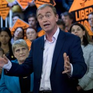 Vor wenigen Wochen hat Tim Farron noch den Wahlkampf für seine Partei geführt.