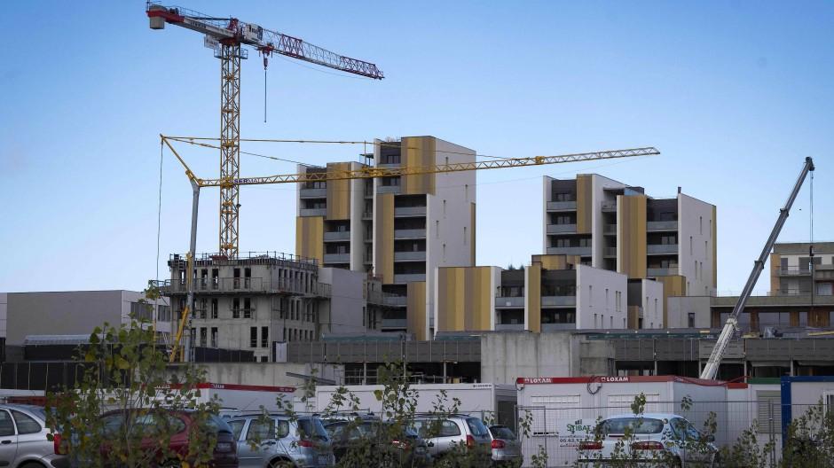 Im Bau: Der Öko-Bezirk Cartoucherie.