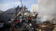 Israel setzt Luftangriffe auf Gaza fort