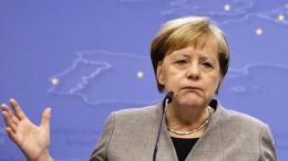 """Merkel gratuliert Johnson zu einem """"überragendem Sieg"""""""