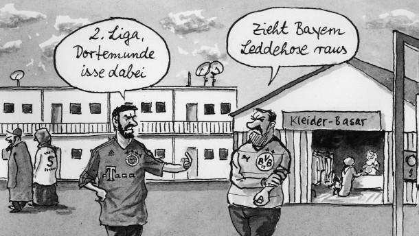 Nie waren sich Bayern und Dortmund so ähnlich