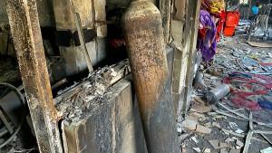 Mehr als 50 Tote bei Brand in einem Krankenhaus im Irak
