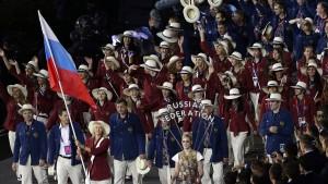 Olympia ohne Leichtathleten aus Russland