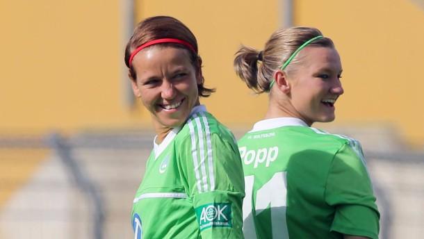 Ziel erreicht: Wolfsburg in der Champions League