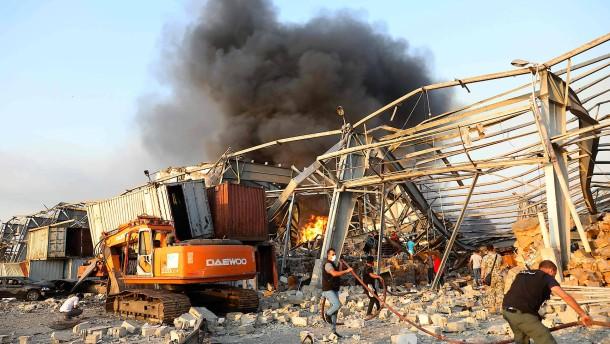 Tote und Verletzte nach Explosion in Beirut