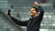 Er hat es wieder geschafft: Zum zweiten Mal in drei Jahren führt Diego Simeone Atlético Madrid ins Finale der Champions League.
