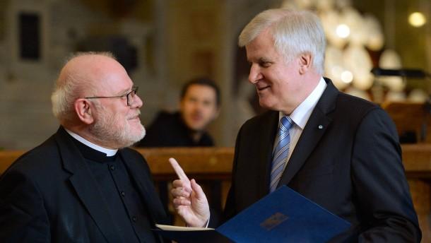 Seehofer kritisiert Kardinal Marx
