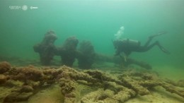 Schiffswracks aus dem 18. Jahrhundert entdeckt
