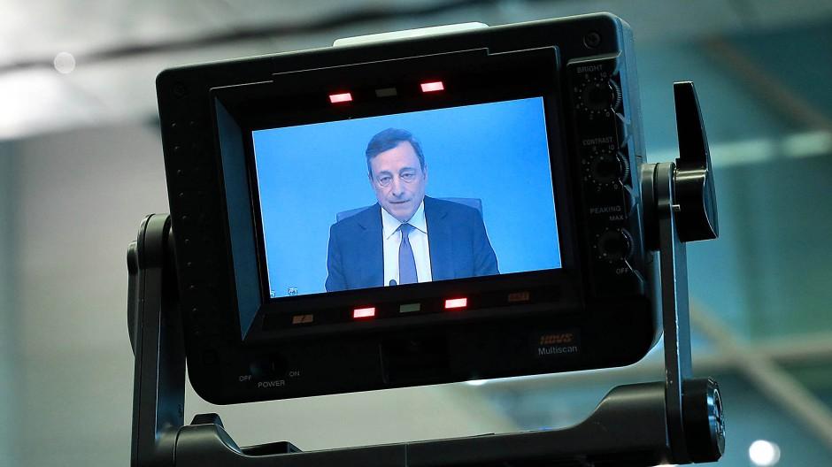 Ständig unter Beobachtung: Mario Draghi, der Präsident der Europäischen Zentralbank