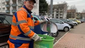 Unterwegs mit der Müllabfuhr