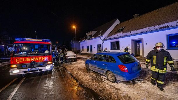 Fünf Leichen nach Wohnhausbrand im Bergischen Land gefunden