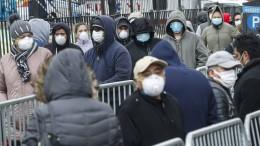 In New York wird es schlimm – auf dem Land noch schlimmer?