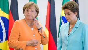 Merkel fordert Verlässlichkeit von Brasilien