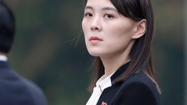Schwester von Kim Jong-un droht Amerika