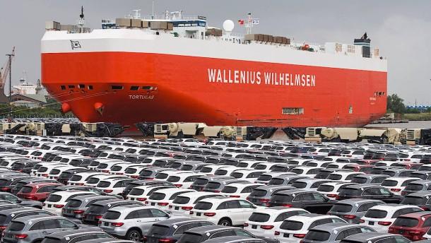 """Autohersteller warnen vor wirtschaftlichem """"Erdbeben"""""""
