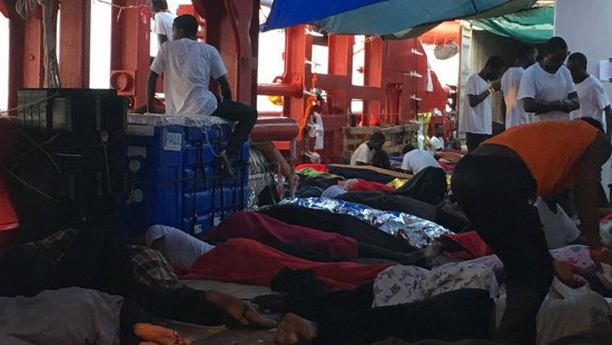 Migranten dürfen in Malta an Land