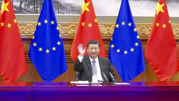 Wie China auf die Sanktionen von EU und USA reagiert