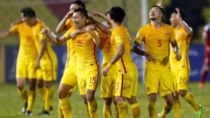 China trainiert für Olympia