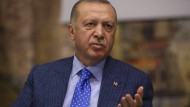 Der türkische Präsident hat eine Waffenruhe in Syrien ausgeschlossen.