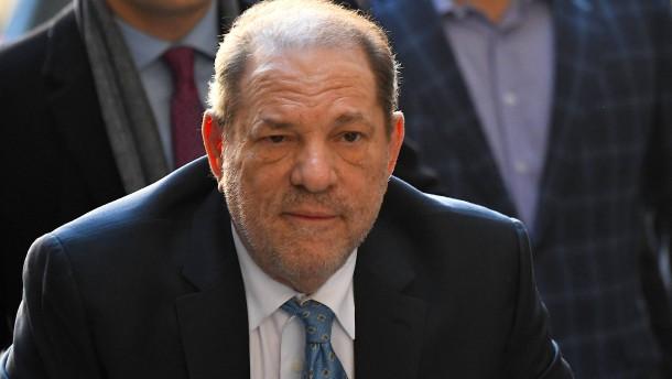 Harvey Weinstein vor Überstellung nach Los Angeles