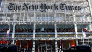 "Gebäude der ""New York Times"" in New York"