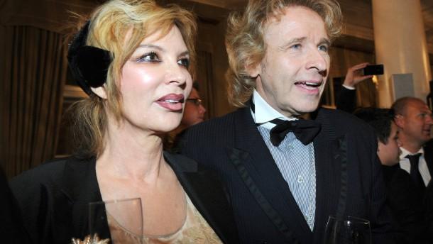 Thomas Gottschalk mit Ehefrau Thea