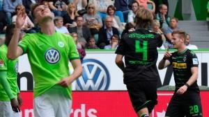 Wolfsburg steht weiter im Regen