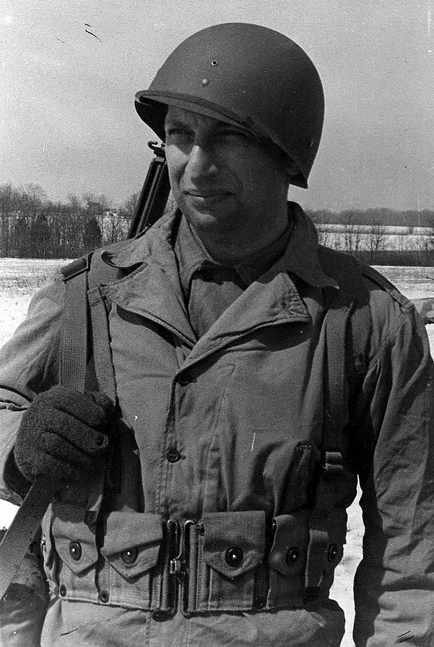 1944: Wechsberg in amerikanischer Uniform