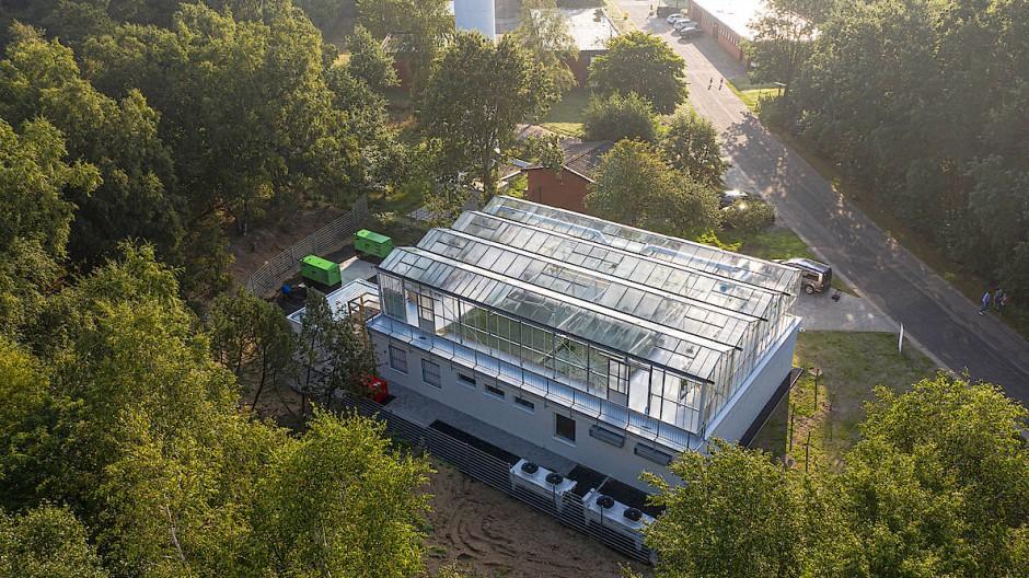 """Das Rechenzentrum """"Windcloud"""" steht für eine andere Form der Nachhaltigkeit."""