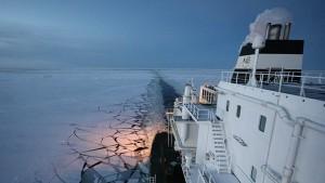 Das Schiff, das aus der Kälte kam