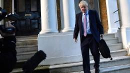 Kann er schon für 10 Downing Street planen?