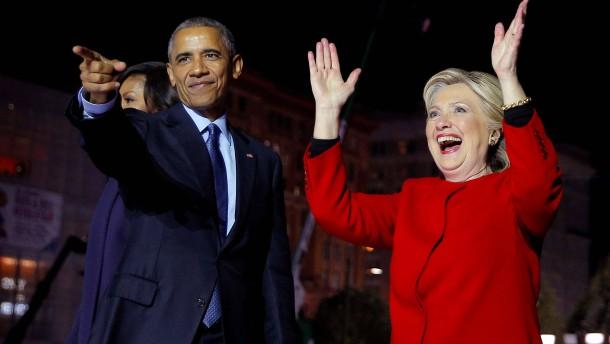 """Clinton: """"Wir stehen vor der größten Prüfung unserer Zeit"""""""