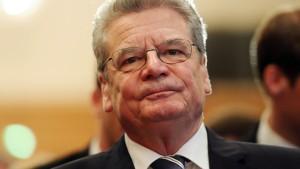 Gauck sagt Reise in die Ukraine ab