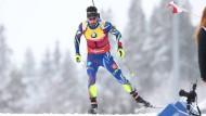 Martin Fourcade ist bei der Biathlon-WM bislang nicht aufzuhalten