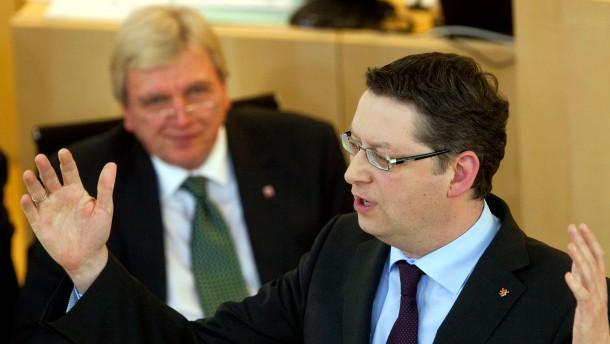 Hessischer Landtag zu Fluglärm Schäfer-Gümbel Bouffier